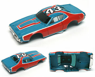 1978 Aurora AFX G+ Dodge Charger STP Petty TVGuide Promo Slot Car BODY ONLY 1101
