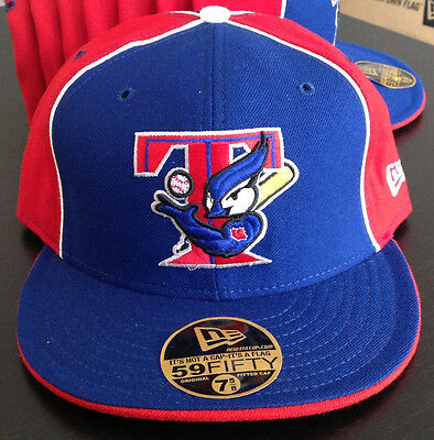 new products f1b5f 7b9b3 Toronto Blue Jays NEW ERA 59FIFTY MLB Fitted Hat Throwback Alternate Mens  Size 7