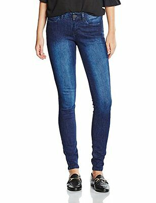 TOM TAILOR Denim Jona Extra Skinny Blue, Blu Donna, Grigio (Dark Stone Wash Deni