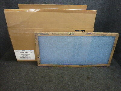 "nos! lot of flanders ez flow ii furnace air filters, 12"" x 25"" x 1 ..."