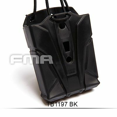 New Style Black Elastic Load Out System Flexible Magazine Bag Pouch For 5.56