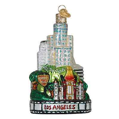 """Los Angeles City"" (20085) Old World Christmas Ornament"