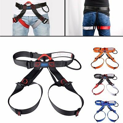 Rock Climbing Downhill Equipment Harness Rappel Rescue Safety Tool Seat Belt