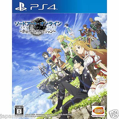 Sword Art Online: Hollow Realization SONY PS4 PLAYSTATION JAPANESE NEW JAPANZON
