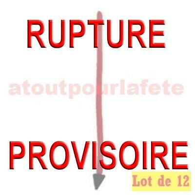 LOT A PRIX PRO: 12 Queues de Diable 60cms,Diablesse,Halloween