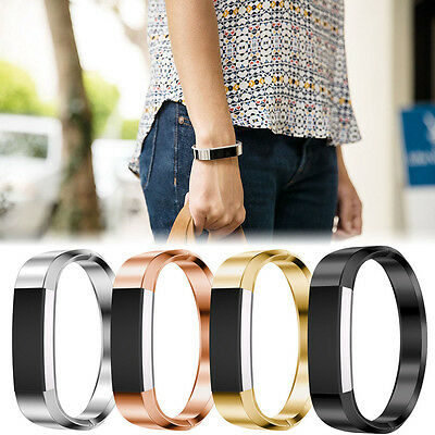 Colorful Metal Design Bangle Band For Fitbit Alta Wristband Stainless Bracelet