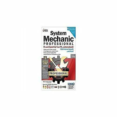 System Mechanic Professional Complete Pac Software Very Good