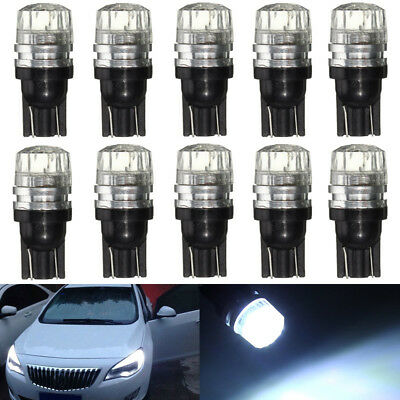 10x T10 W5W 194 LED COB Interior Canbus Error Free Side Lamp Wedge Light Bulb
