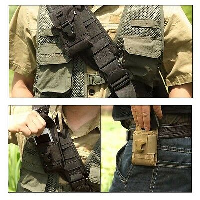 Outdoor Sport Tactical Waist Fanny Pack Belt Bag Camping Hiking Phone Pouch
