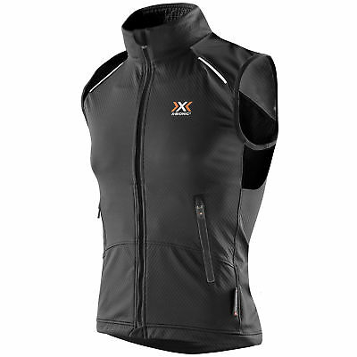 X-Bionic Cross Country Man Spherewind Light Winter Weste Crosslauf Herren MTB