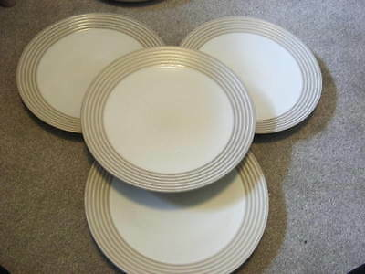 Denby Reflections Cups And Saucers X 6