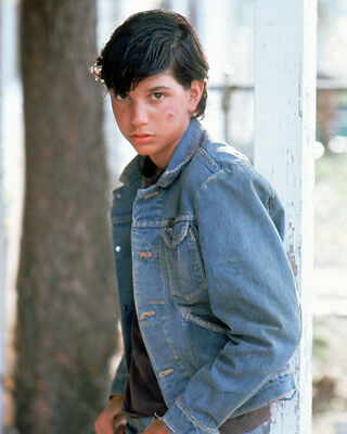 The Outsiders Ralph Macchio Bruised Face In Denim Jacket 8X10 Photo