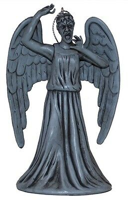 Doctor Who Weeping Angel Statue Monster Christmas Tree Ornament BBC DW1154 New