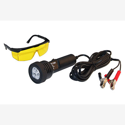 Tracerline TP1300 Leak Detection LED Light 12 Volt, w/UV Glasses