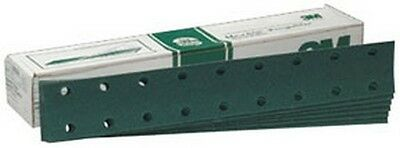 "3M 639 Green Corps Hookit Regalite Sheet D/F 00639, 2 3/4"" x 16"", 80E, 50 /box"