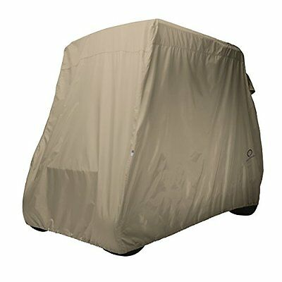 Classic Accessories Fairway Golf Cart Cover, Khaki, Long Roof