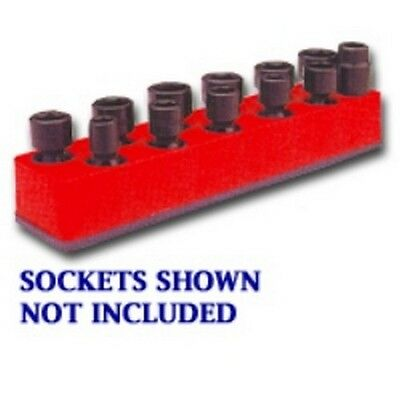 Mechanics Time Saver 380 3/8 in Dr Universal Magnetic Blue Socket Holder 10-19mm Automotive Tools & Supplies