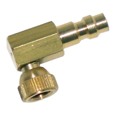 Star Products 74853 Small Schrader Right Angle Adapter with Quick Coupler Plug