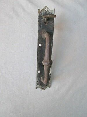 "Vintage Thumb LATCH DOOR HANDLE,Iron,C.1860,7 3/4"" x 1 7/8"", Early!"