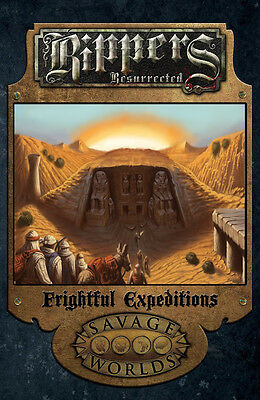 Savage Worlds RPG Rippers Resurrected Frightful Expeditions Softcover S2P 10323