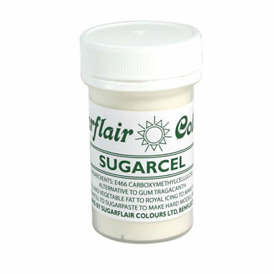 Sugarflair Edible Quality Grade Sugarcel Gum Tragacanth Substitute for Cake Ice
