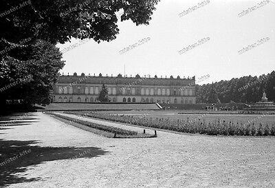 Negativ-Schloss-Herrenchiemsee-Architektur-Panorama-Chiemsee-1952-8