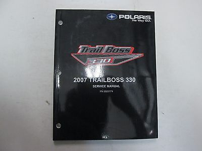 2007 Polaris TRAIL BOSS 330 Service Repair Shop Workshop Manual FACTORY NEW