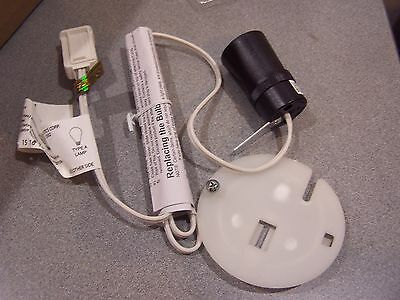 NEW General Foam Replacement Light Cord & Socket for Large Blow Mold Empire