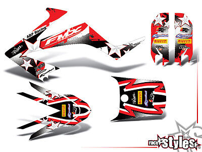 HONDA FMX 650 2005 2006 2007 Dekor FULL decal KIT grafiche graphique supermotard