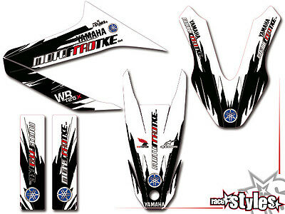 YAMAHA WR 125 R / 125 X FULL FACTORY RACING DEKOR DECAL Aufkleber KIT 2009-2017