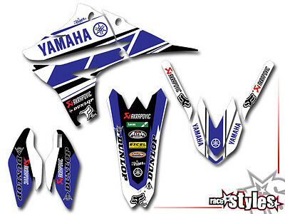 Yamaha Factory Dekor Kit Yz Yzf Wrf 85 125 250 450 Blue Limited Edition Decals