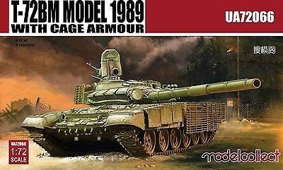 MODELCOLLECT UA72066 T-72BM Model 1989 w/Cage Armour in 1:72
