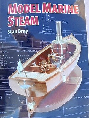 Model Marine Steam 144 pages large print By (author)  Stan Bray