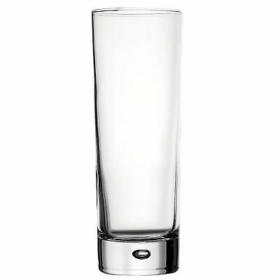 Centra Tall Hiball Glasses 10.5oz / 300ml - Set of 6 - Slim Cocktail Glasses