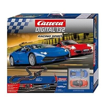Carrera Digital 132 Racing Spirit 30187 Rennbahn Porsche 911 Carrera S Cabriolet