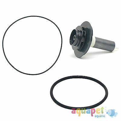 Fluval Ext Filter FX5 FX6 Service Kit Impeller, Top & Bottom Seal, Instructions