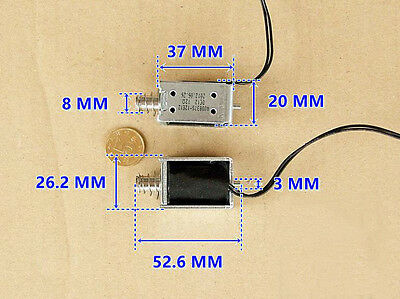 NEW Through type Impact type Push-pull type DC12V Direct current electromagnet