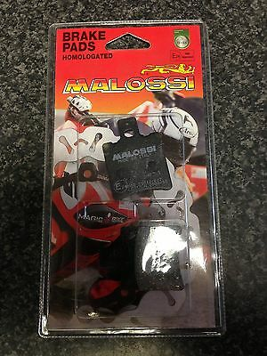 APRILIA SR 50 R FACTORY INJECTION 2005 on FRONT BRAKE PADS MALOSSI NEW