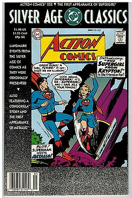 Dc Silver Age Classics Action Comics #252 1St Supergirl!
