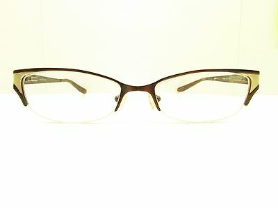 801a4505791 BABY PHAT 132 HALF RIM cat eye DESIGNER Eyeglasses FRAMES 51-17-140 TV6