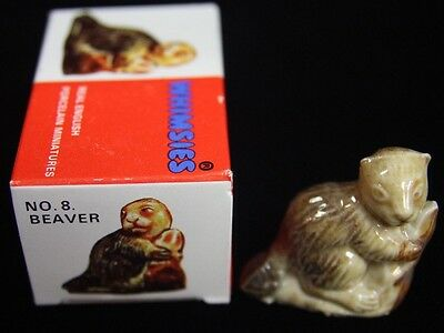 Wade....Made in England Whimsies Beaver No. 8