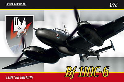 EDUARD 2115 WWII Bf 110C-6 Heavy Fighter in 1:72 LIMITED EDITION!
