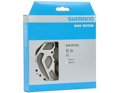 Shimano SM-RT26S Disc Rotor 160mm 6 Bolt - retail