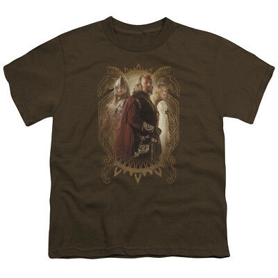 The Lord Of The Rings Movie Eowyn Eomer Rohan Royalty Big Boys T-Shirt Tee