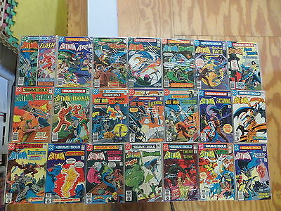 Brave And The Bold 27 Issue Bronze Comic Run 151-199 Special Dc Batman