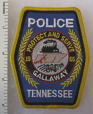 Gallaway Tennessee Police Department Shoulder Patch