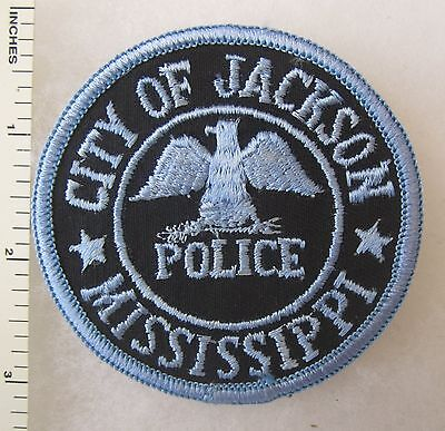 ORIGINAL Vintage JACKSON MISSISSIPPI POLICE DEPARTMENT PATCH