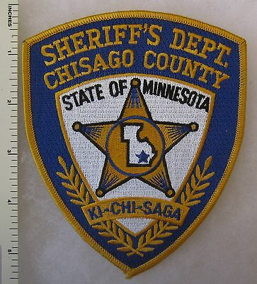 Chisago County Minnesota Sheriff's Department Shoulder Patch