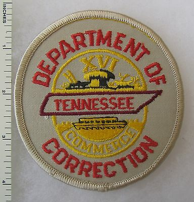 ORIGINAL Vintage TENNESSEE DEPARTMENT of CORRECTION PATCH