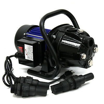 1.5HP 110v 1000GPH Stainless Steel Jet Shallow Booster Water Pump Pressure Pump